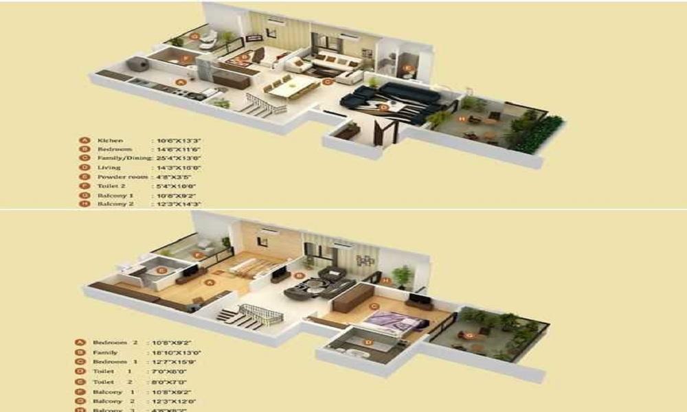 Arun Auroville Floor Plan