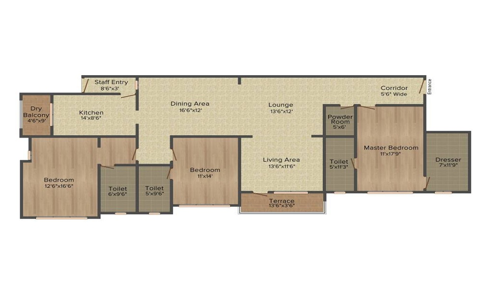 Mittal Mermit Auriga Floor Plan