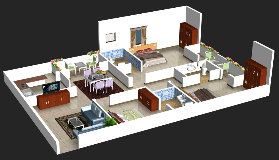 Vaishnavi Splendour Floor Plan