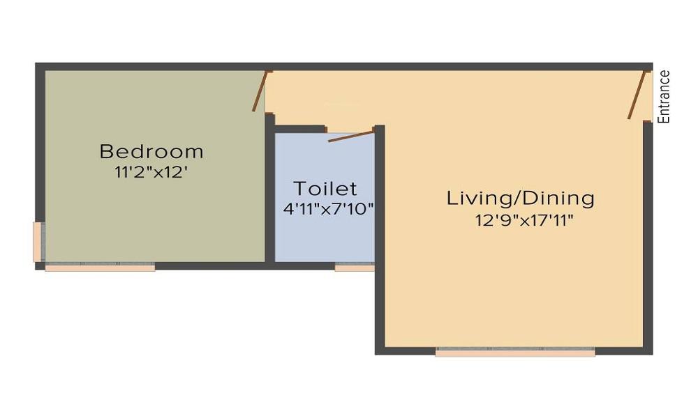Raheja Pebble Bay Floor Plan