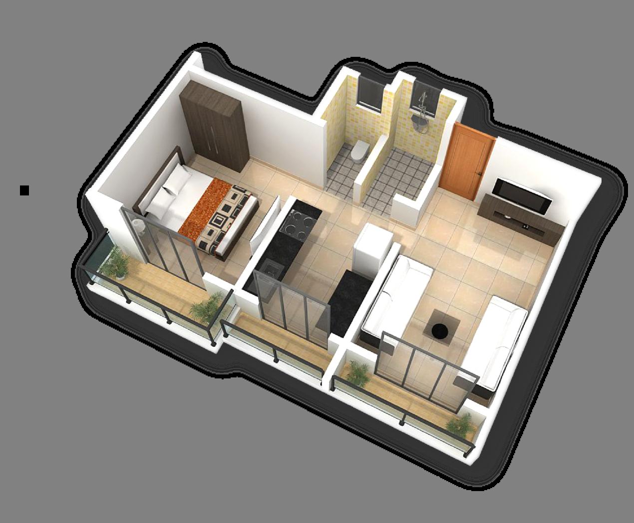 Shriram Smrithi Floor Plan