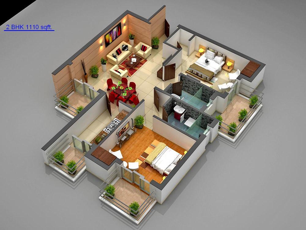 Naksha Atlantis Floor Plan