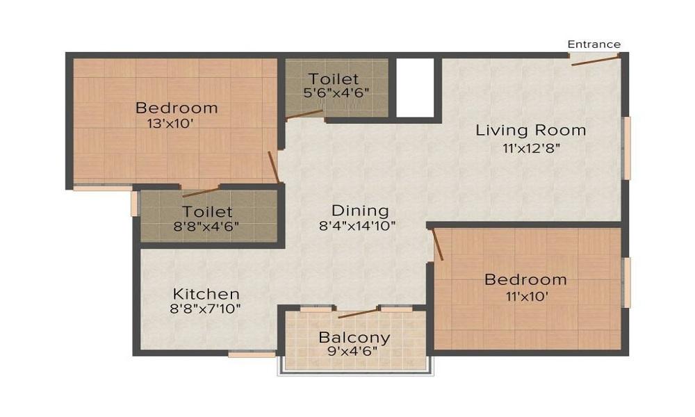 SLV Sapphire Floor Plan