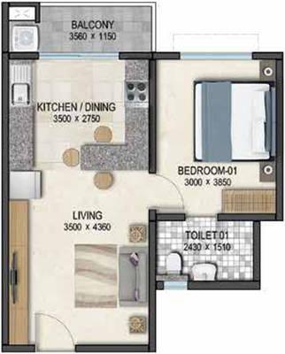 Sobha Dream Acres Floor Plan