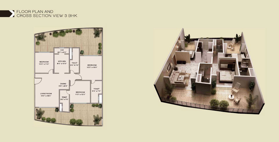 Embassy Corner Floor Plan
