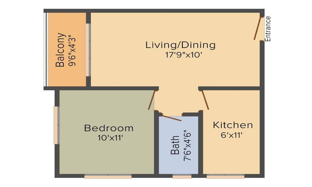 Vaishnavi Gardenia Floor Plan