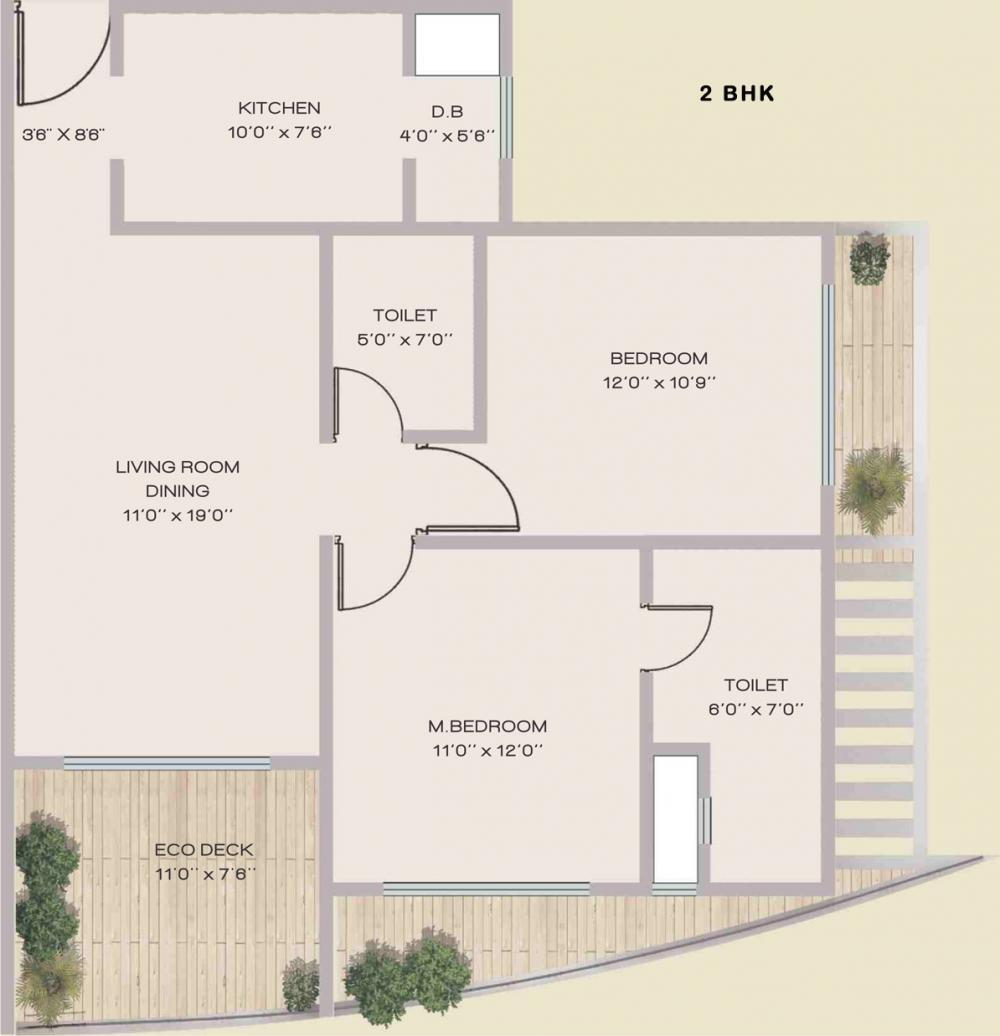 MN Guru Gokulam Floor Plan