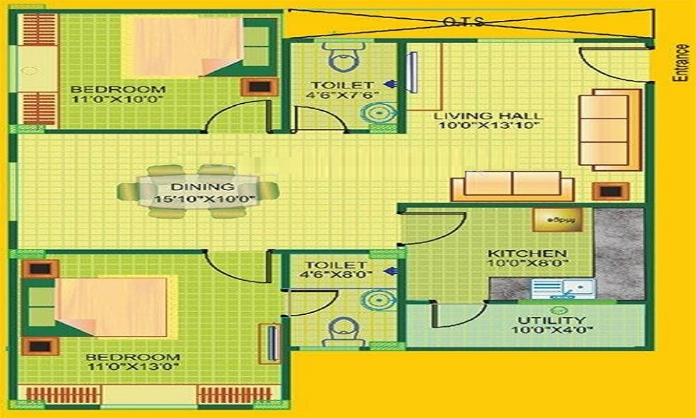 Janapriya Greenwood Floor Plan