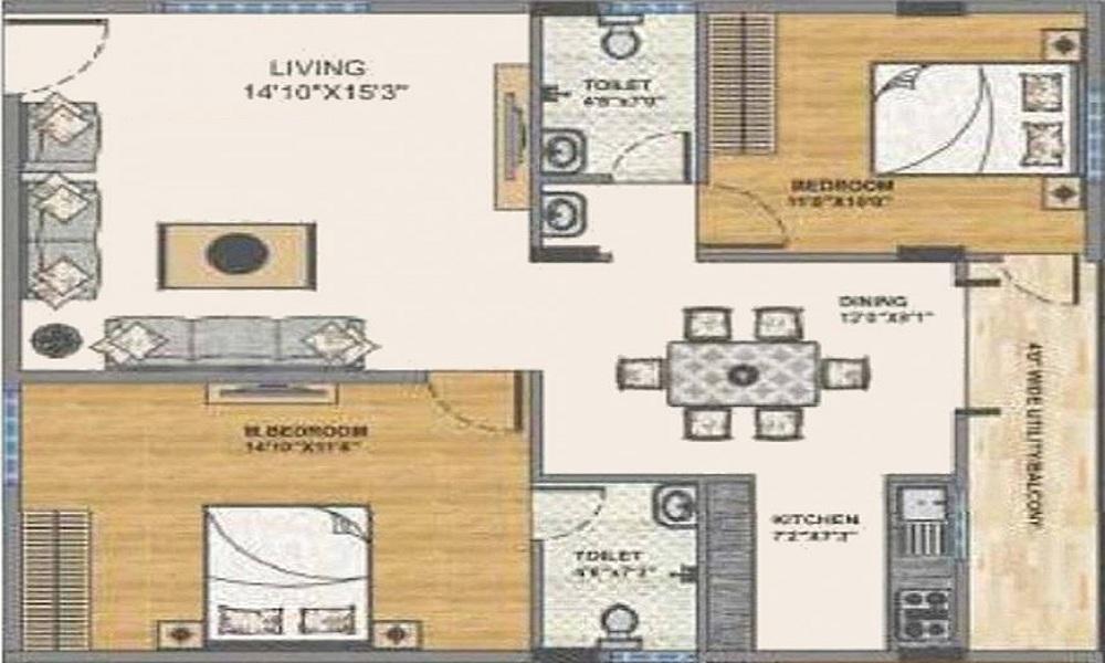 Arvind's Shambhavi Floor Plan