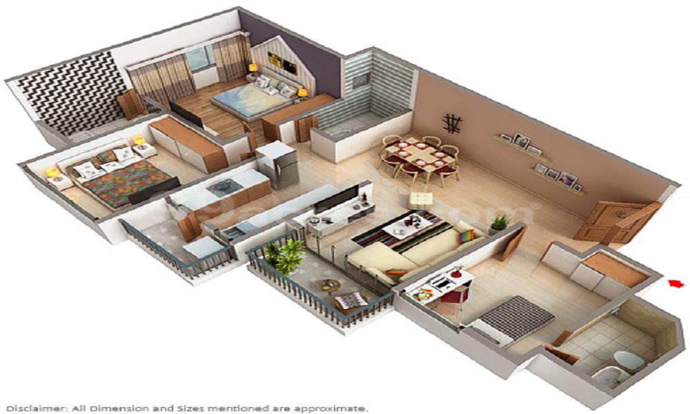 Narayan Panchavati Apartments Floor Plan
