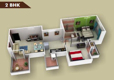 BSR Koorla Residency Floor Plan