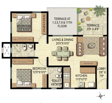 Prabhavathi Windsor Floor Plan