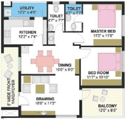 Pyramid Carnations Floor Plan