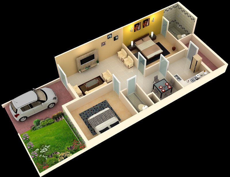 Total Cirrus Minor Floor Plan