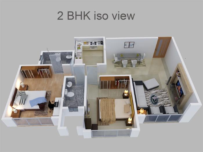 DS Max Sankalp Floor Plan