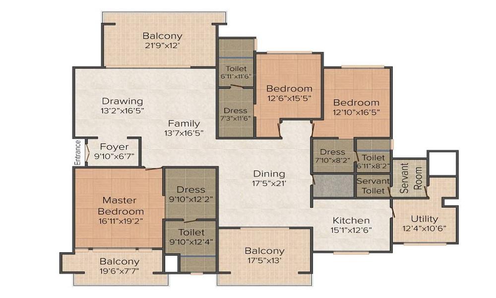 Legacy Cirocco Floor Plan