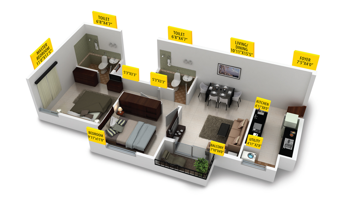 Provident Housing Sunworth Floor Plan