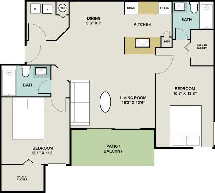 VRP Prabhavathi Heights Floor Plan