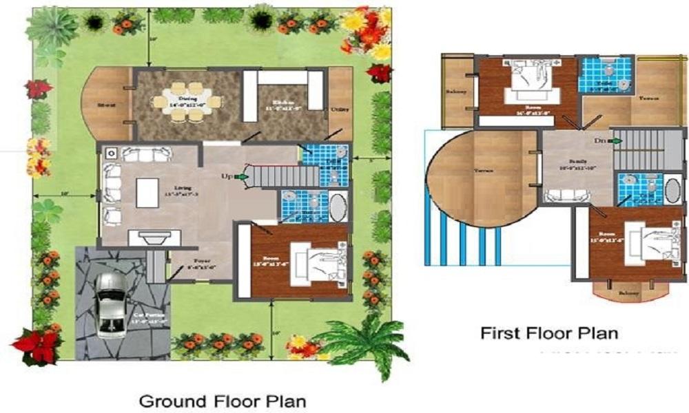 Blue Valley Tranquil Arc Floor Plan