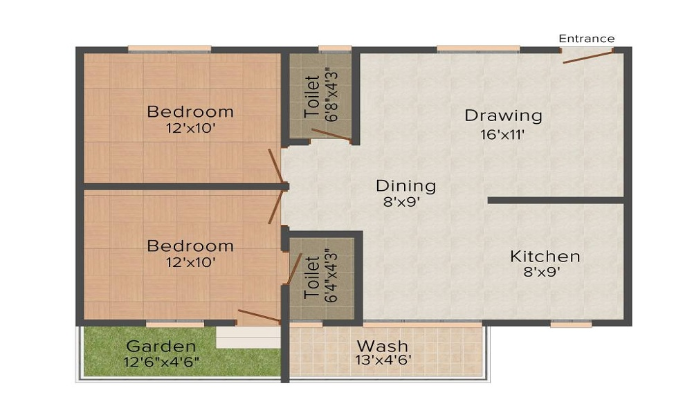 Tetra Green Aspire Floor Plan