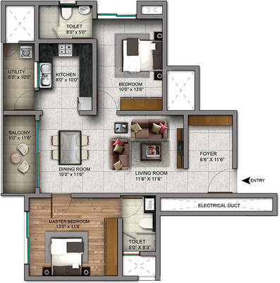 Century Infiniti Floor Plan