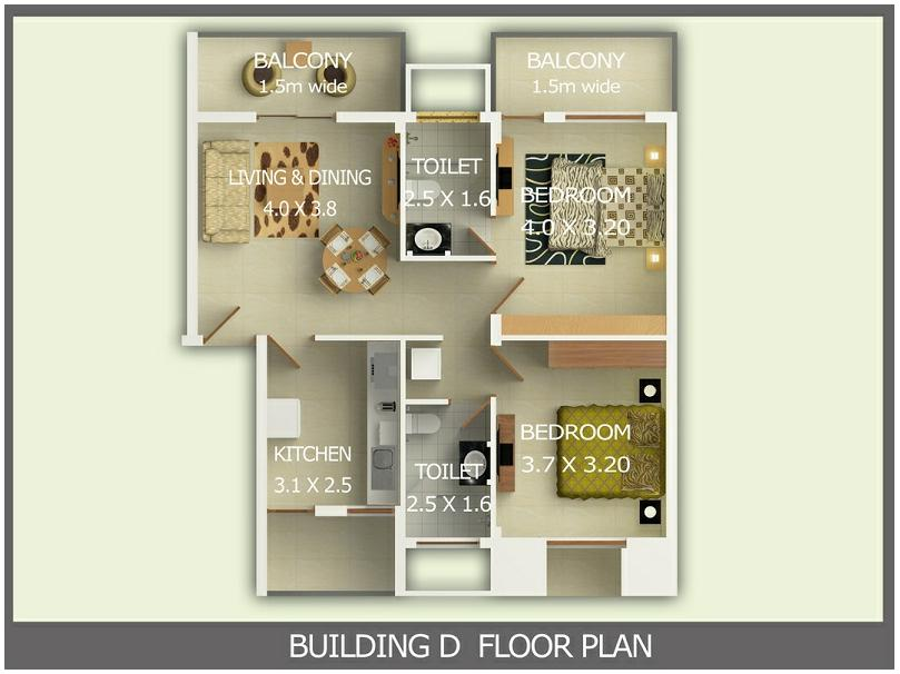 Vaishnavi Paradise Floor Plan