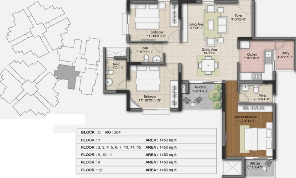 Hoysala Ace Floor Plan