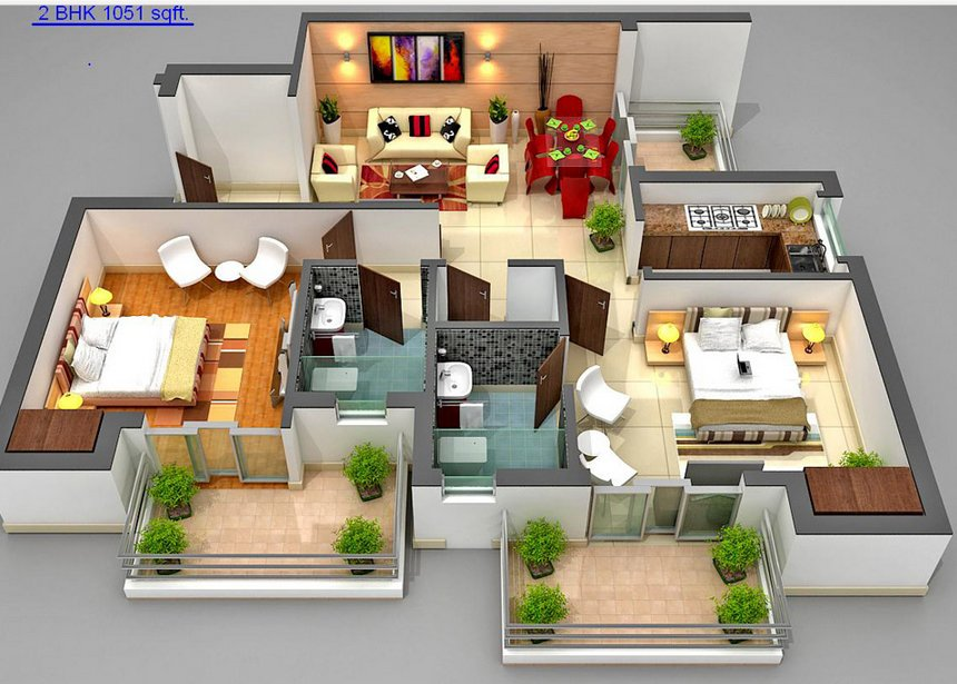 Pratheek Wind Chimes Floor Plan