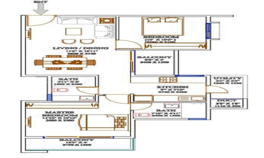Arun Kaustubha Floor Plan