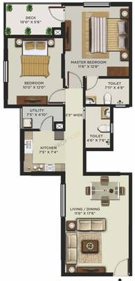 Mantri Alpyne Floor Plan