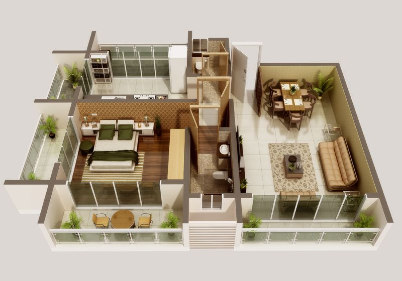 Manito Builders Grace Garden Apartments Floor Plan