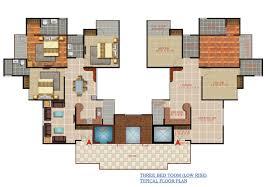 Ansal API Lemon Grove Floor Plan