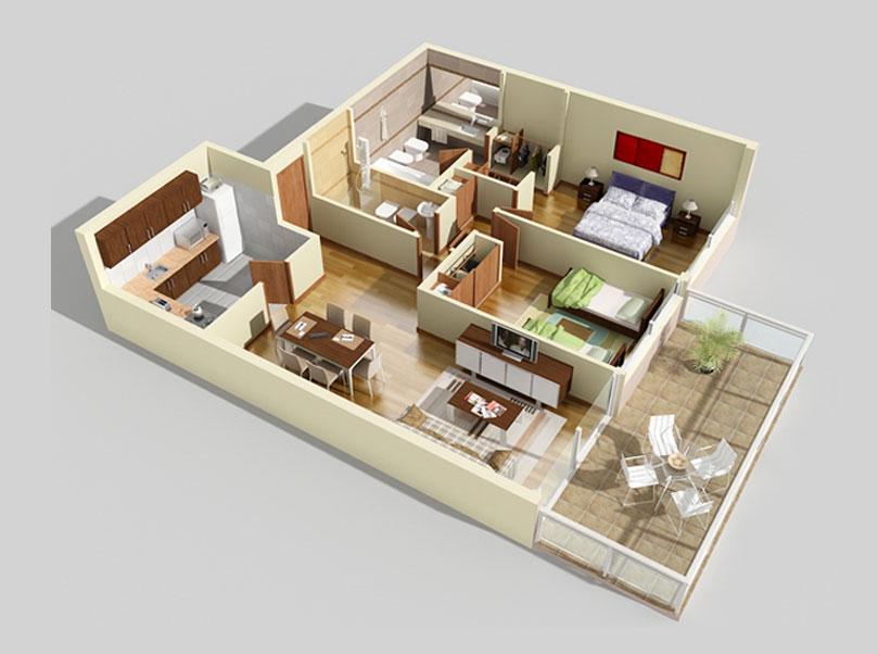 Sai Krupa Elite Floor Plan