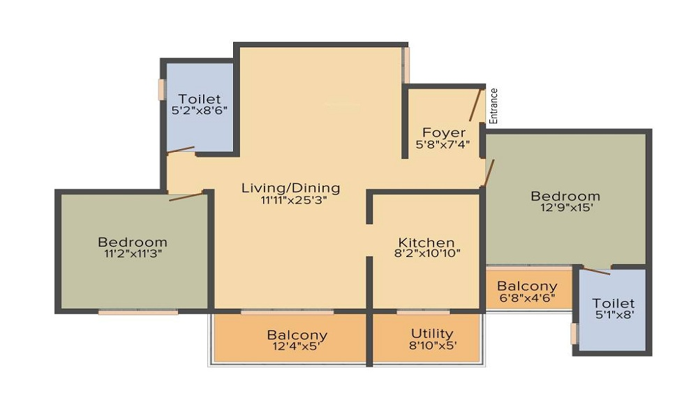 Unishire Spacio Floor Plan