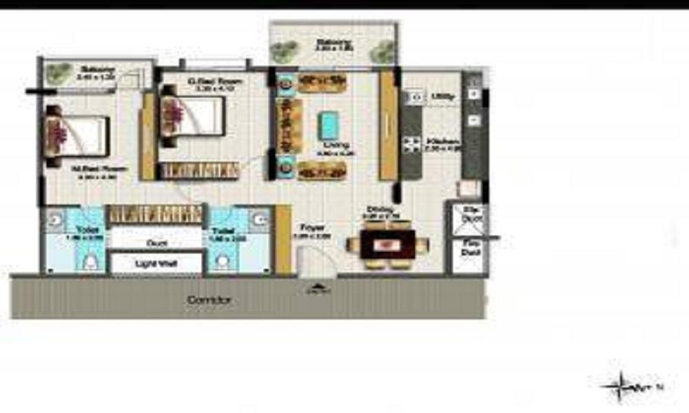 Esteem Splendor II Floor Plan