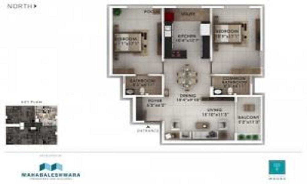 Mahabaleshwara Classique Woods Floor Plan