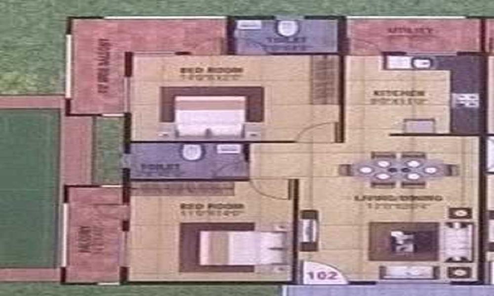Jai Residency Floor Plan