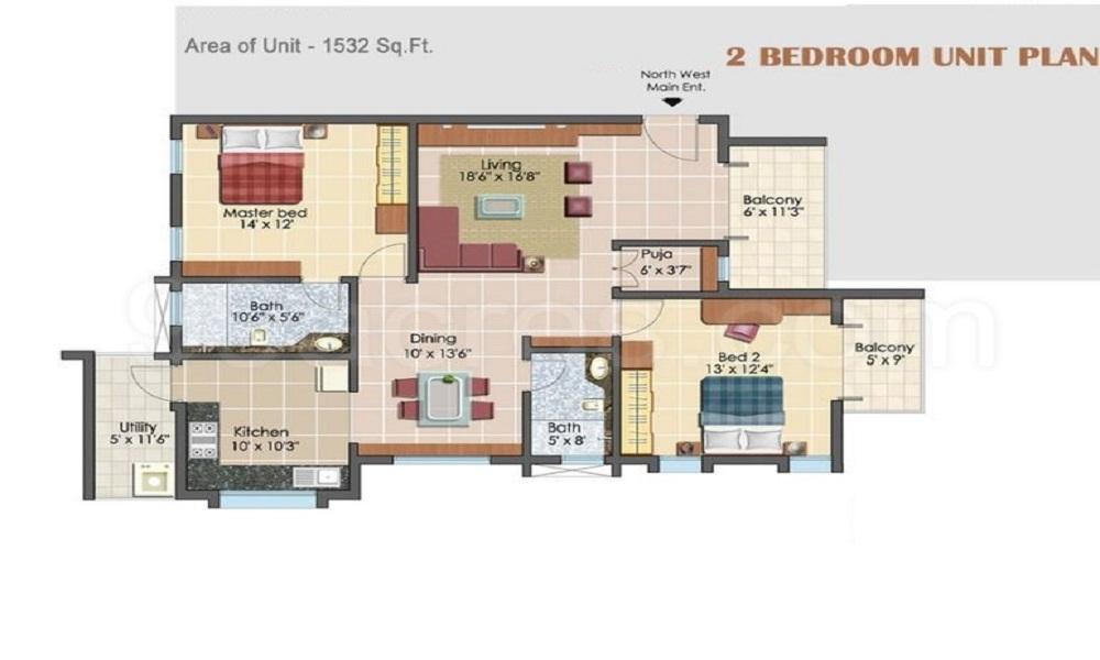 3Cube Elil Abode Floor Plan