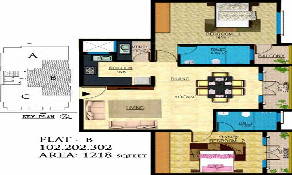 Emerald Icon Floor Plan