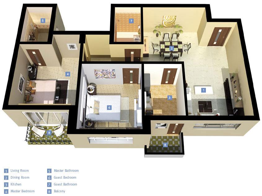 Elegant Bristol Floor Plan