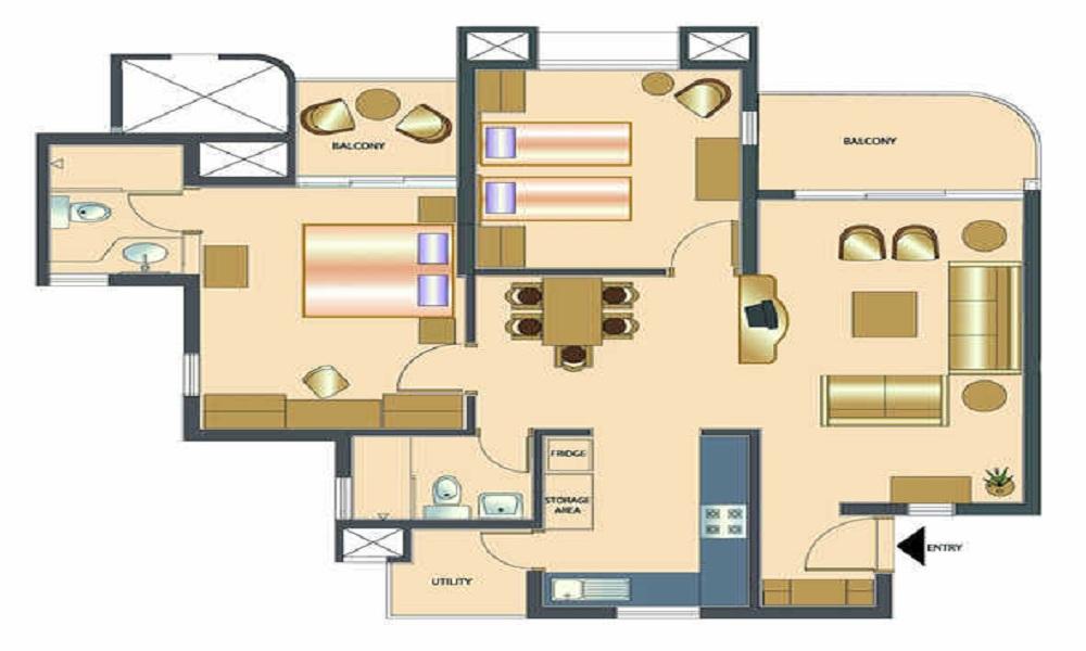 Rohan Vasantha Floor Plan