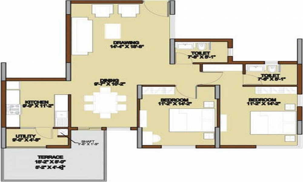 Unishire Terraza Floor Plan