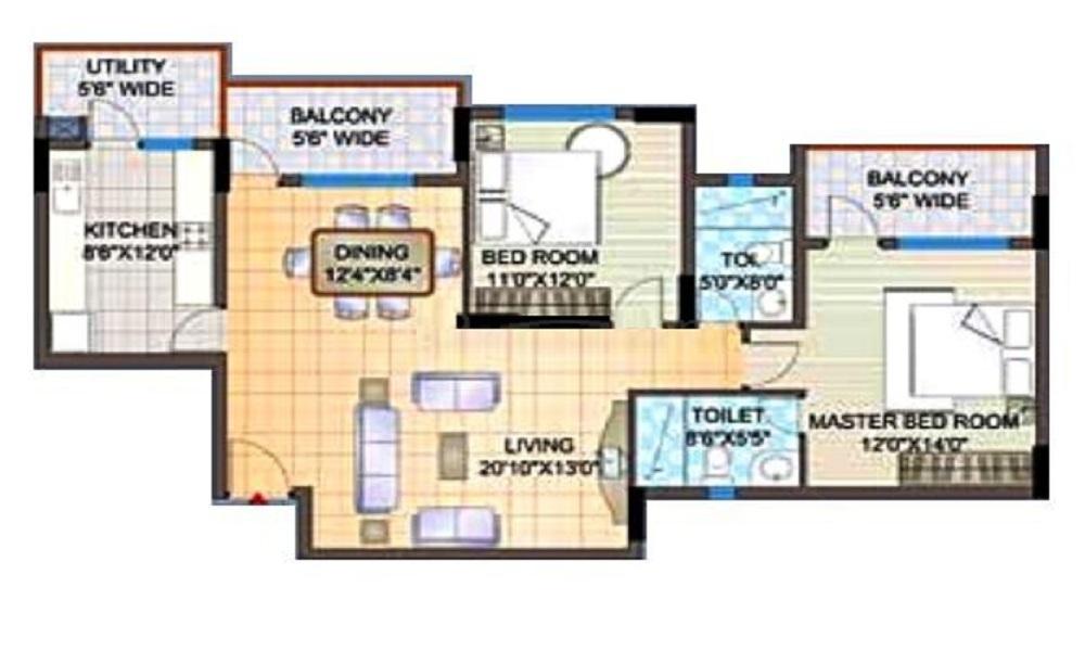 H M Symphony Floor Plan