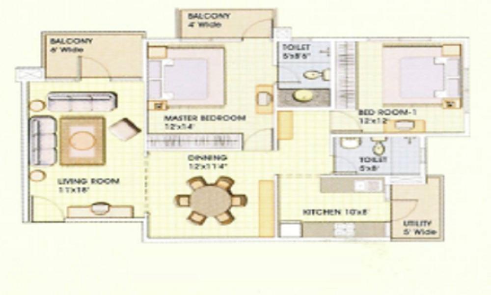 Aisshwarya Excellency Floor Plan