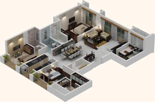 MS Homes Floor Plan