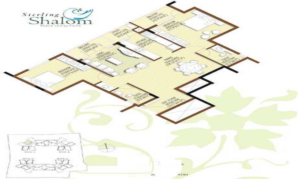 Sterling Shalom Floor Plan