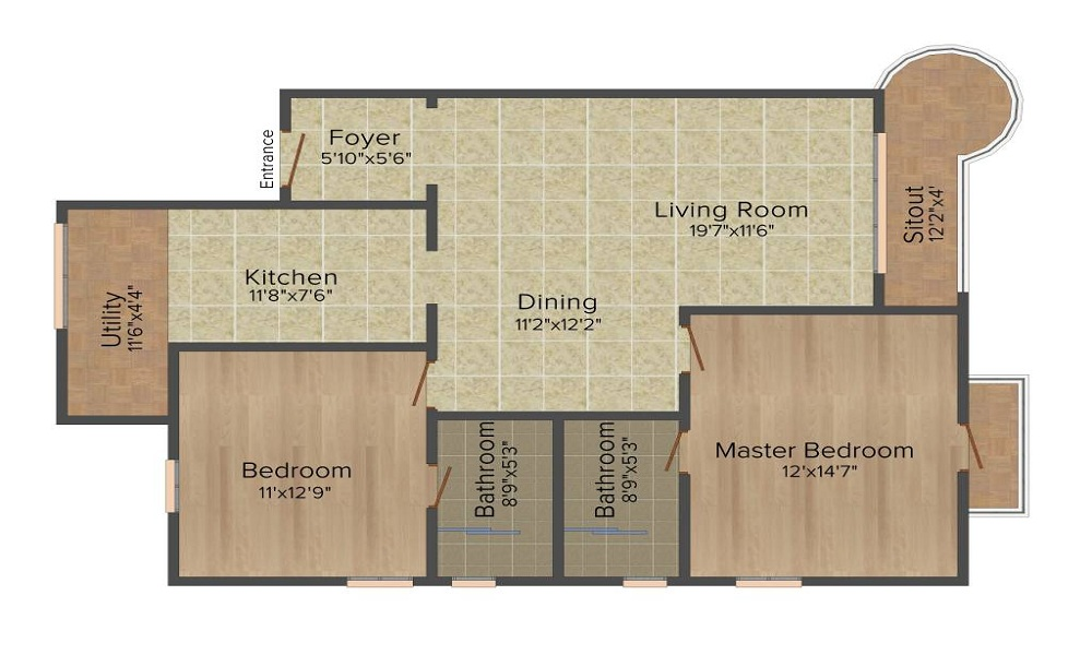 Ashed Regency La Majada Floor Plan