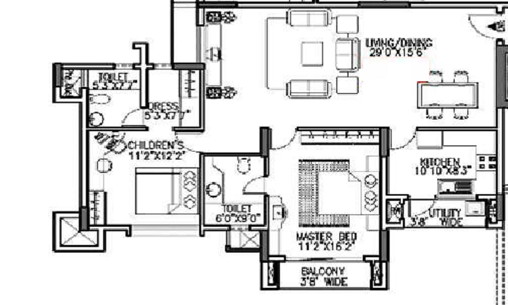 Godrej Woodsman Estate Floor Plan