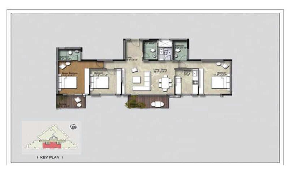 Unishire Belvedere Premia Floor Plan