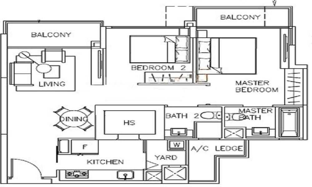 The Canopy Floor Plan